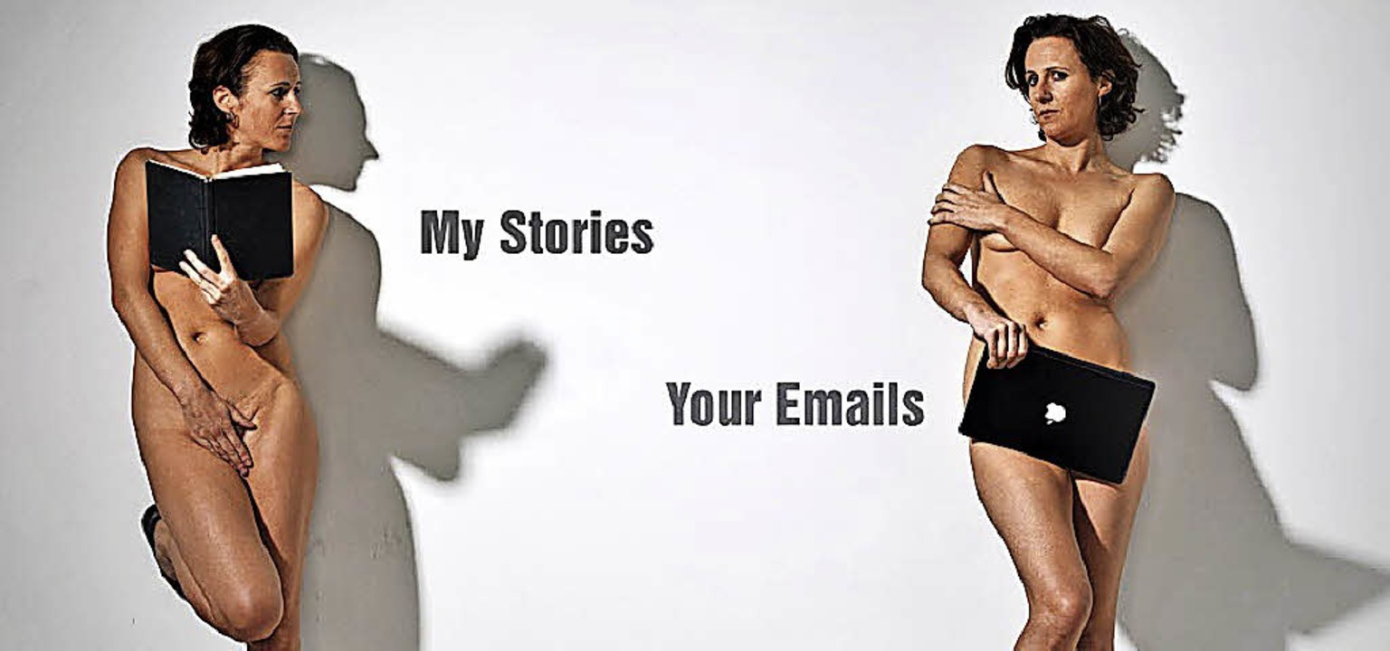 "Am 8. April zu sehen:  Ursula Martinez... ""My Stories, Your Emails""  