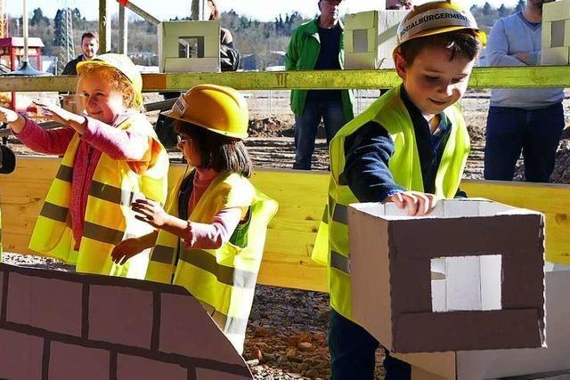 Richtfest für Kindertagesstätte im Bürgerpark