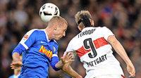 VfB mit Remis gegen Bochum, Karlsruhe verliert in Aue