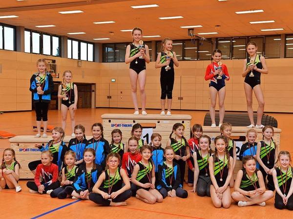Die Sechs- bis Zwölfjährigen zeigten alle tolle Leistungen bei den Stadtmeisterschaften des TuS Bonndorf.