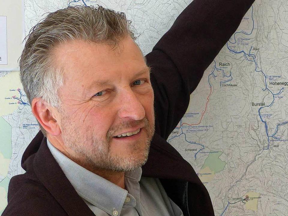 Gerd Schönbett tritt in der Gemeinde K... zweite Amtszeit als Bürgermeister an.  | Foto: Sattelberger