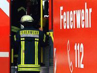 Fotos: Brand bei der Lauffenmühle in Lörrach