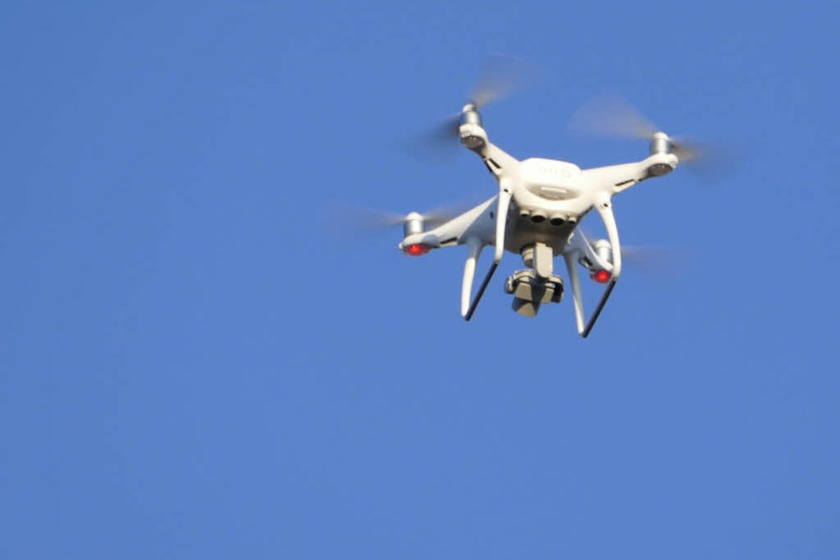 <ppp></ppp> Drohne (Foto: Peter Gerigk)