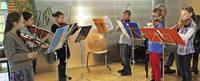Grundschüler musizieren in Erzingen und St. Blasien