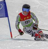 Ferdinand Löffler glänzt bei den Riesenslalomrennen der Skiliga in Sölden