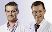 """Doktores Michael Pfeiffer und Stefan Endres referieren beim Gesundheitsforum über """"Unsicherheit beim Gehen und Stehen"""" in der Kreisklinik Lörrach"""