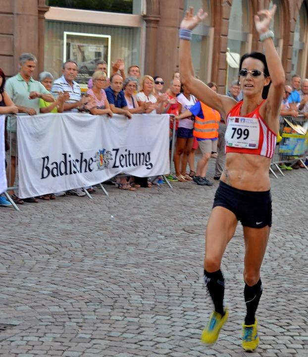Lokalmatadorin Jeannine Kaskel hat den...Altstadtlauf schon mehrmals gewonnen.     Foto: Archivfoto: Axel Kremp