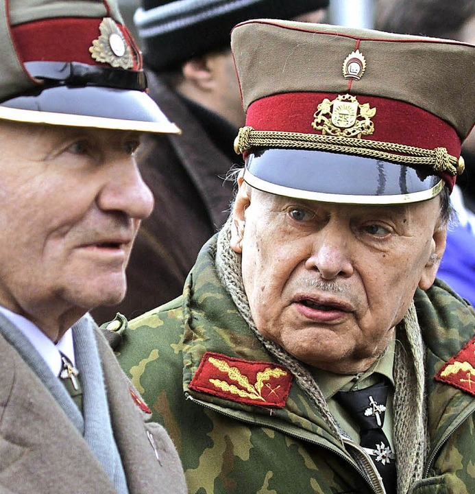 Latvian Legionnaires Remembrance day in Riga  | Foto: Valda Kalnina