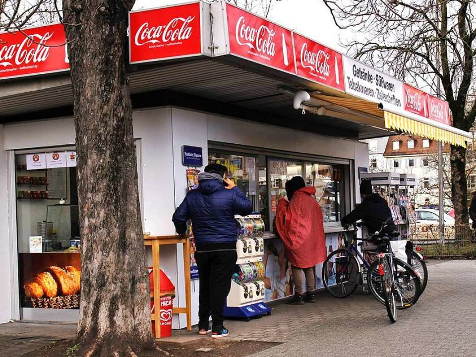 Der Kiosk an der Johanneskirche    Foto: Elena Stenzel