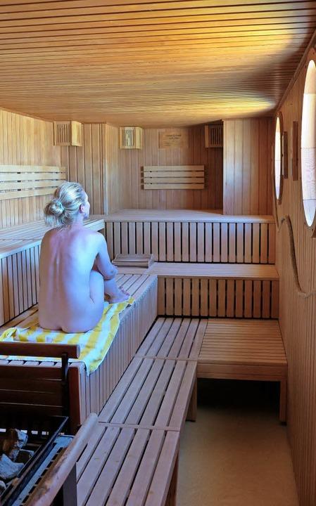 Schwitzen am Strand:Das geht in der Sauna  am Meer auf Borkum.  | Foto: dpa-tmn