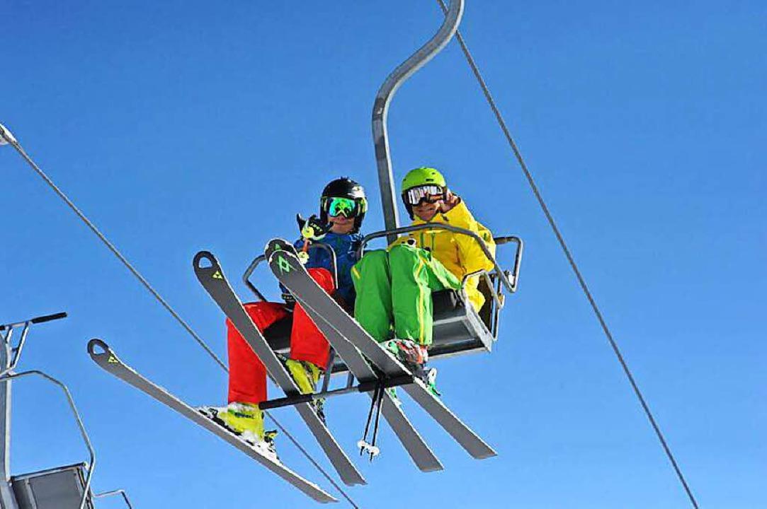 Wer Ski fahren will muss derzeit noch hoch hinaus.   | Foto: Stefan Zahler