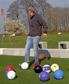 Nach der Winterpause gibt es von1. April an wieder Fußballgolf im Soccerpark