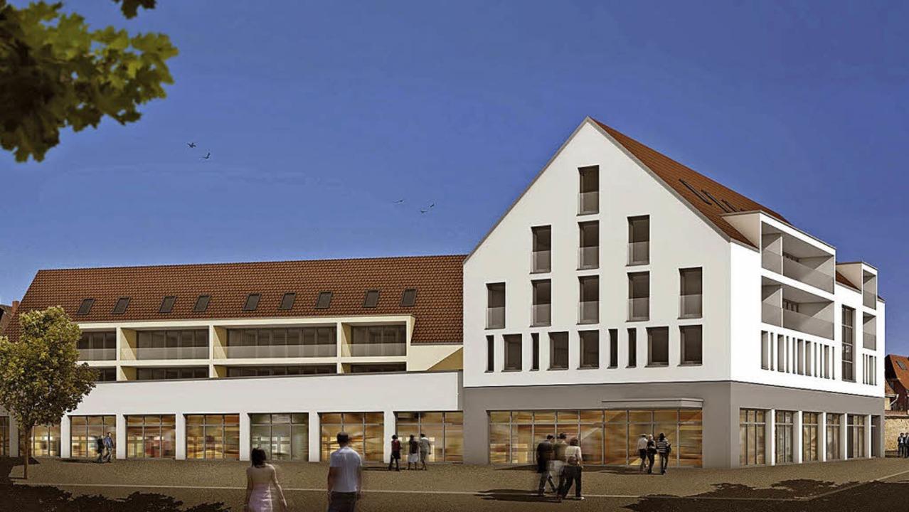 Die Visualisierung der Architektengrup...ch diverse Planungen im Detail nötig.   | Foto: Visualisierung: Plan 7