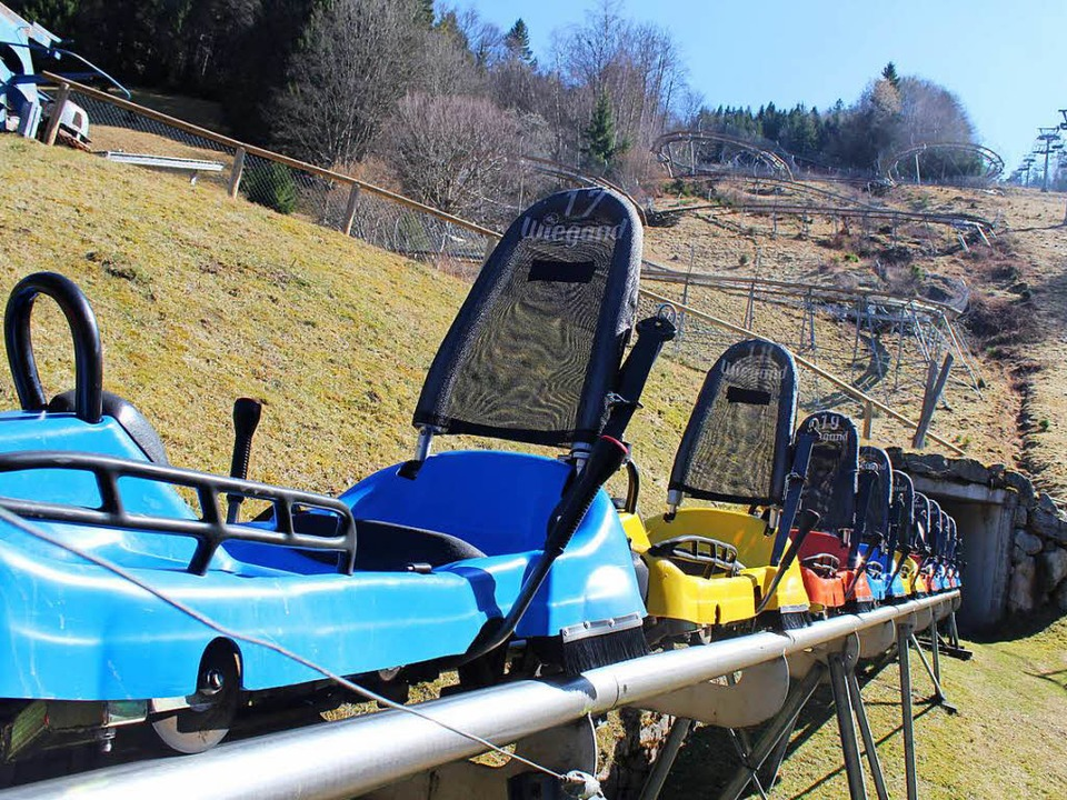 Die Sicherheit auf der  Coasterbahn wi...automatischen Bremssystem verbessert.   | Foto: Jacob