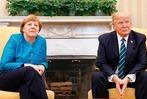 Fotos: So lief das Treffen von Merkel und Trump in Washington ab