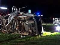 Frau stirbt bei schwerem Unfall auf der A 5 vor Freiburg-Nord