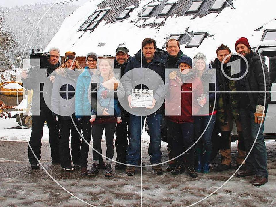 Anfang März begangen die Dreharbeiten ...ion für den ersten Schwarzwald-Tatort.  | Foto: SWR