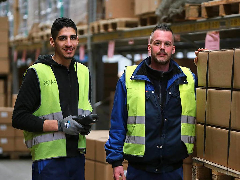 Er hat bereits einen Job gefunden, sei...o Ruf in einem Lahrer Logistikzentrum.  | Foto: Christoph Breithaupt