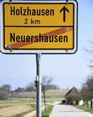 Was passiert mit der Verbindungsstraße zwischen Holzhausen und Neuershausen?
