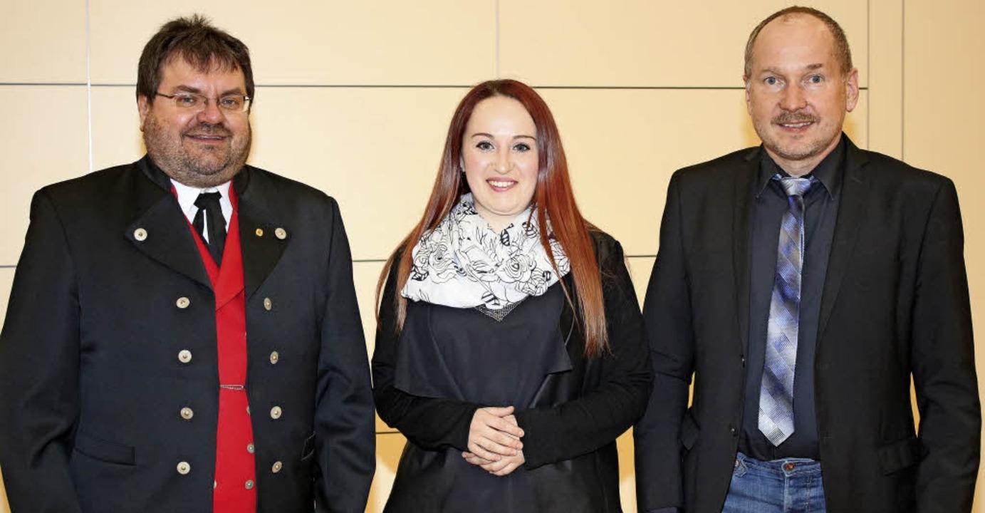 Thomas Happle (links) ist neu gewählte...unn nach zwei Jahren im Amt bestätigt.  | Foto: Martha Weishaar