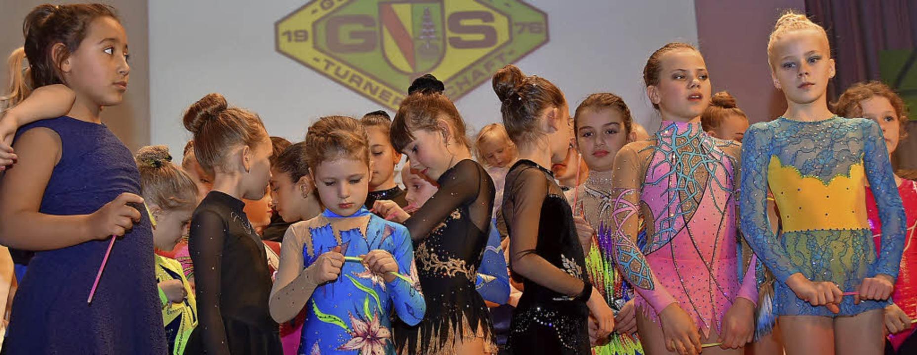 Mehr als 500 Jungen und Mädchen sind in der Turnerschaft aktiv.   | Foto: Andrea Steinhart