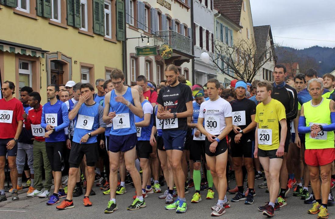 Sekunden  vor  dem  Start des  Hauptlaufs   | Foto: Ingeborg Grziwa