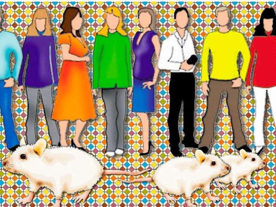 Was macht eine gesunde Ernährung aus? Geforscht wird mit Mäusen und Menschen.    Foto: Rita Reiser