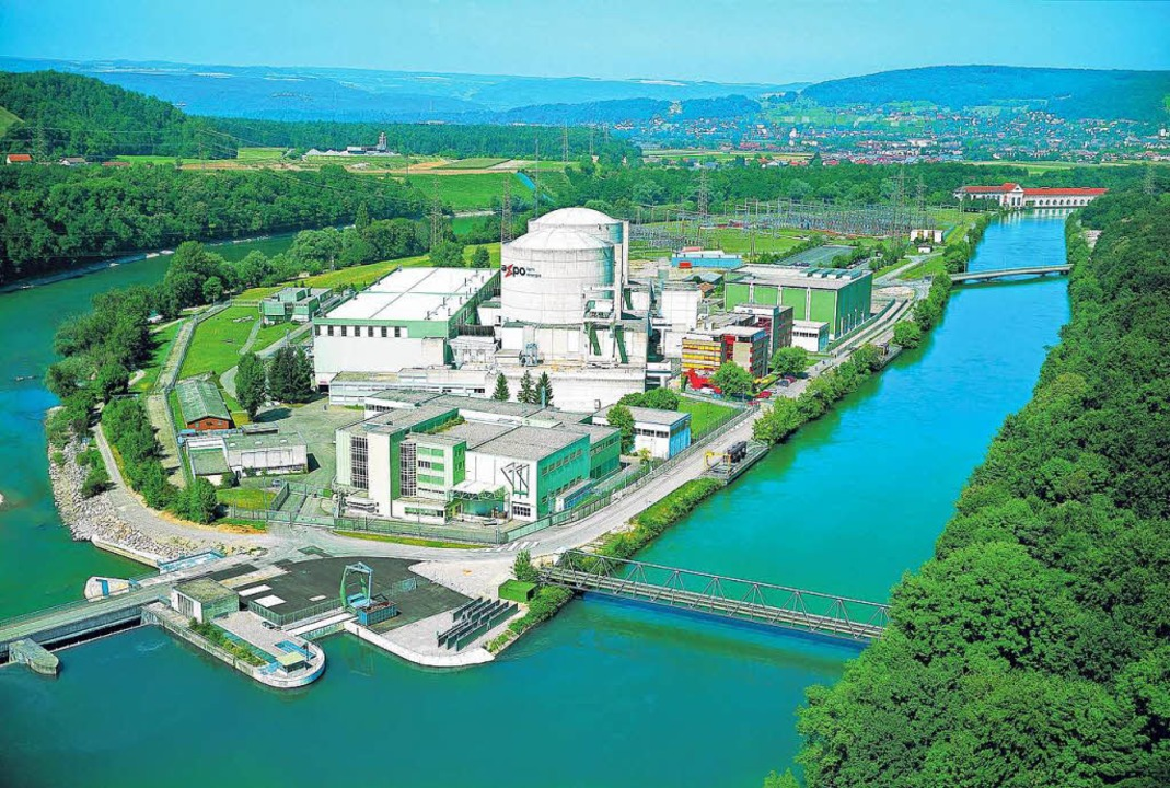 Das Kernkraftwerk Beznau  ist das dienstälteste Kernkraftwerk der Welt.    Foto: AXPO