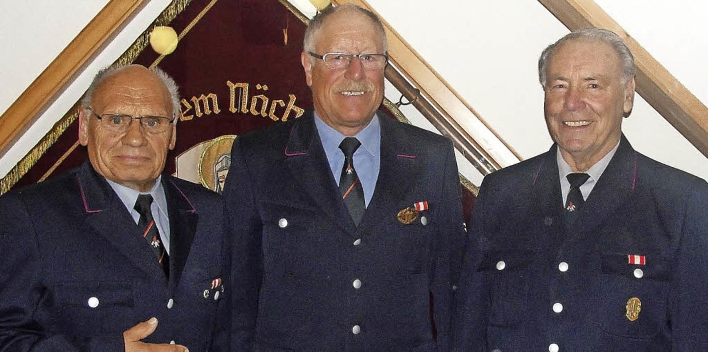 Ottmar Basler (links) und  Günter Mahl...hts) nimmt am Programm  65 plus teil.   | Foto: Tina Hättich