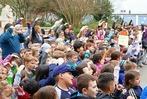 Fotos: Ministerin Eisenmann besucht die Goetheschule
