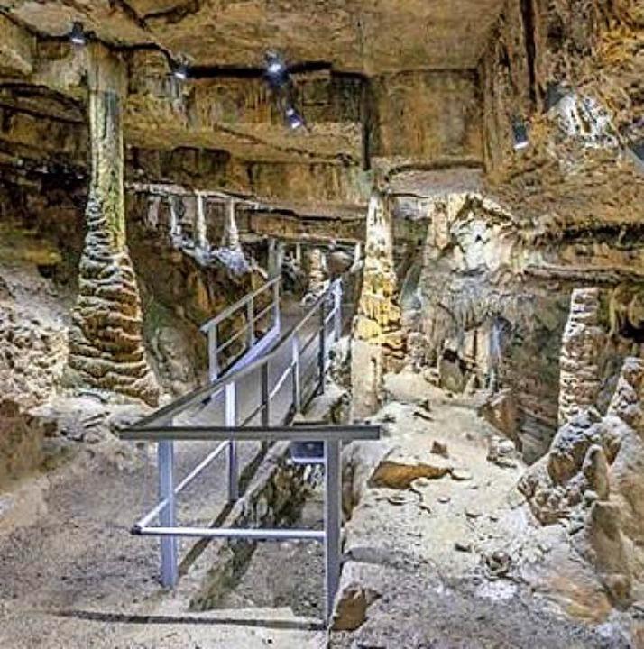 Ab 9. April ist die  Erdmannshöhle wieder geöffnet.   | Foto: Gemeinde