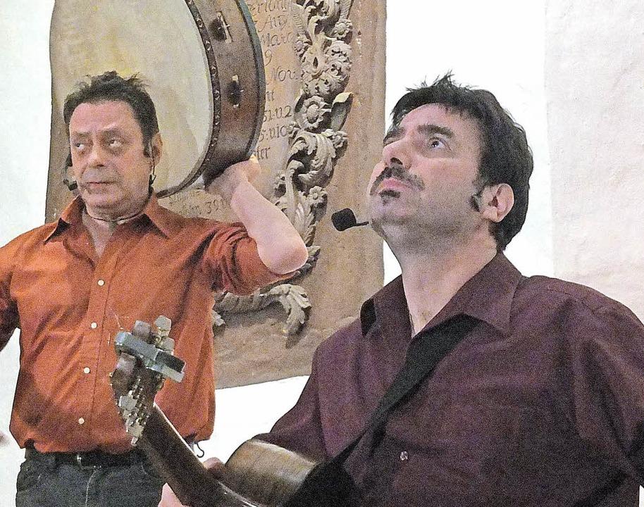 Tammorra gab ein fesselndes Konzert in...assimo Laguarda und Salvatore Meccio.   | Foto: Martina David-Wenk