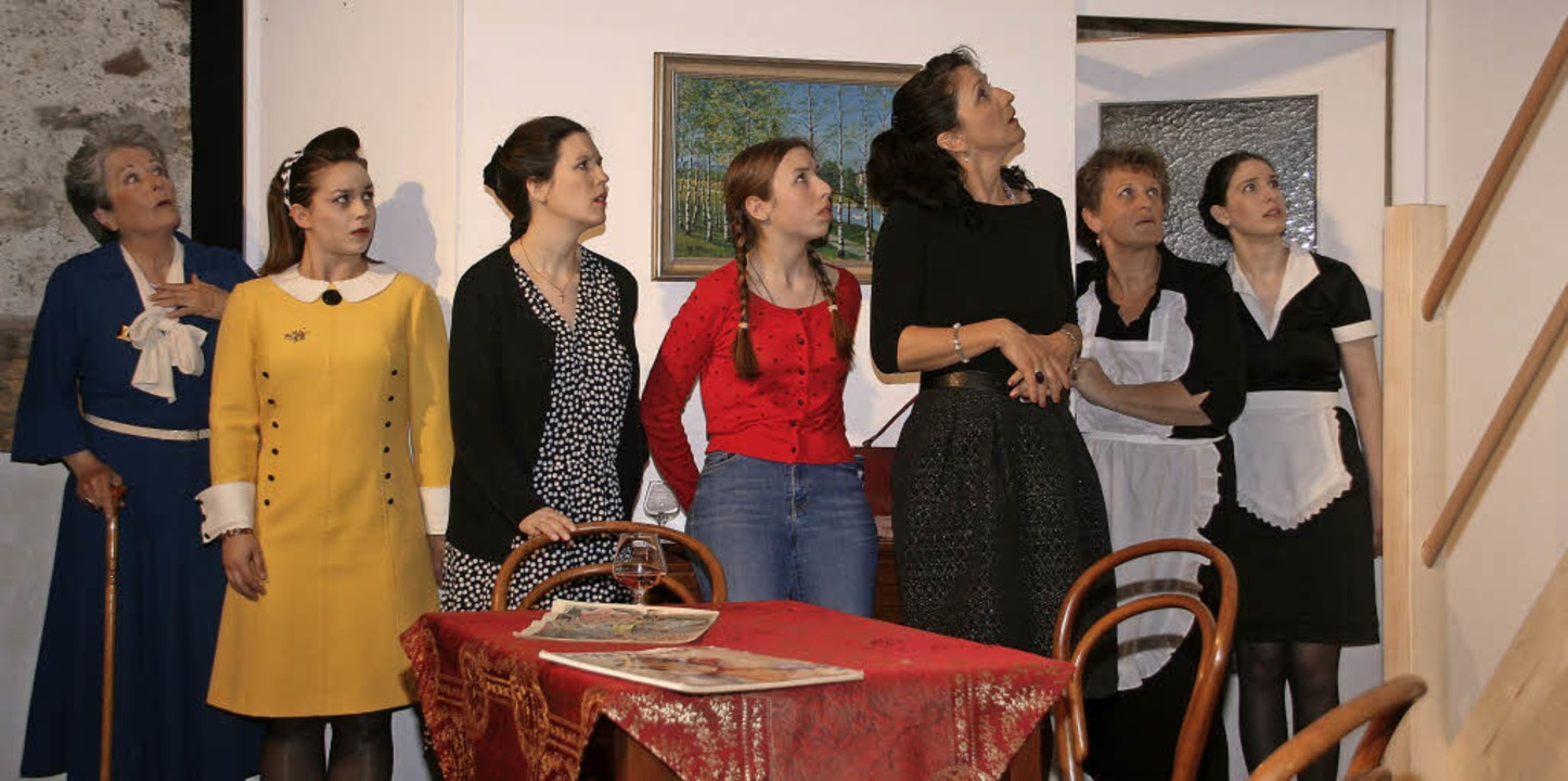 Ein Stück ohne Nebenrollen: Die Schaus...es Wiwa-Theaters wissen zu überzeugen.  | Foto: Aloisia Zell