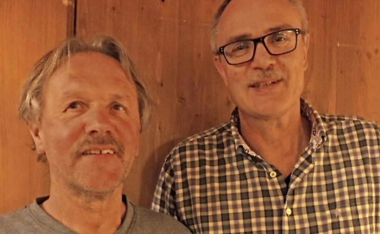 Neu im Vorstand des Schwarzwaldvereins...t Maier und Peter Schlachter (rechts).  | Foto: Franz Kaiser