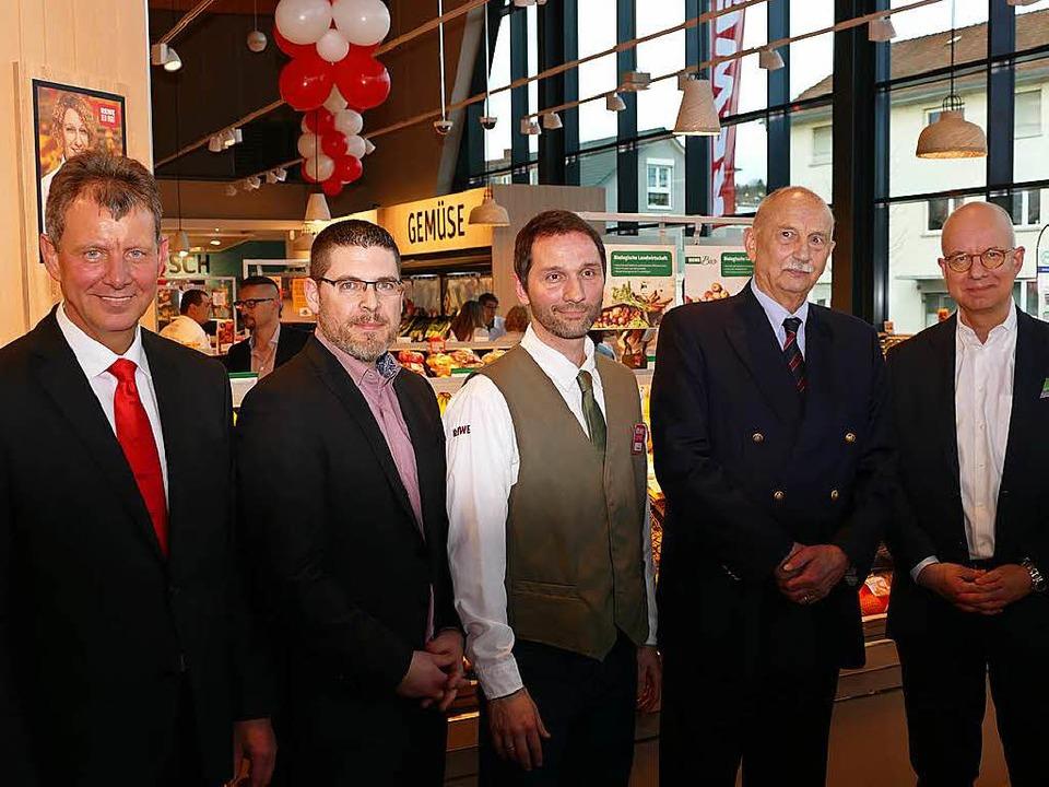 Dieter Appenzeller,  Volker Meißner un... Rose sowie  Hanno Rieger (von links).  | Foto: Ulrich Senf
