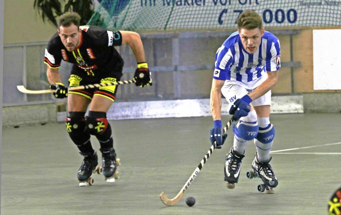 Spielbestimmend, aber nicht zwingend: die Weiler um Felix Furtwängler (rechts)  | Foto: Uwe Rogowski
