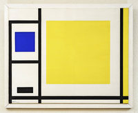 Rebellin im Mondrian-Look