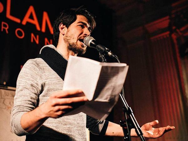 Simon Sahner (27) ist Slam-Poet.