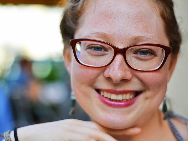 Biggi Rohm (28) ist Slam-Poetin und Autorin bei der Badischen Zeitung.