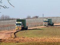 Schwertransporte für Windpark: Hohberger Bürger machen ihrem Ärger Luft