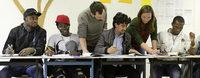 """""""Bildung für alle"""" bietet Bildung für Geflüchtete, die kein Recht auf professionelle Sprachkurse haben"""