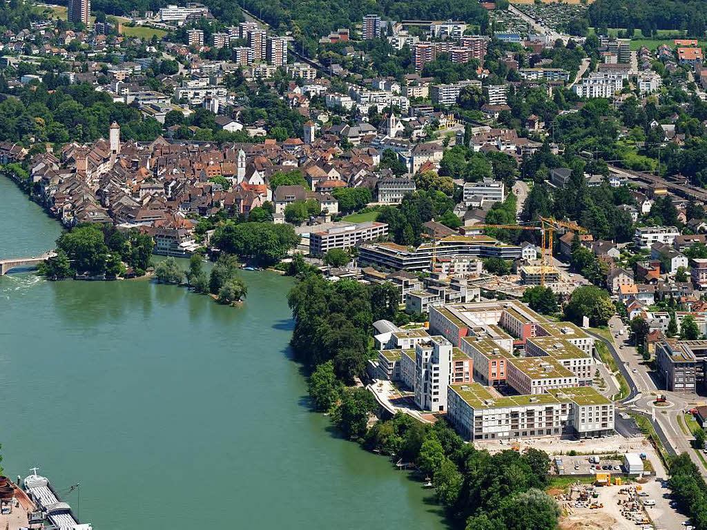 Rheinfelden die nachbarstadt nimmt neuen anlauf for Thermalbad rheinfelden schweiz