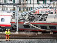 Zug entgleist in Luzern – vier Verletzte