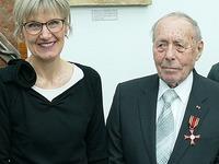 Rolf Luxemburger erhält das Bundesverdienstkreuz