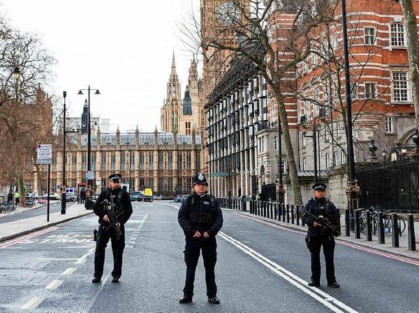 Anschlag im Zentrum Londons
