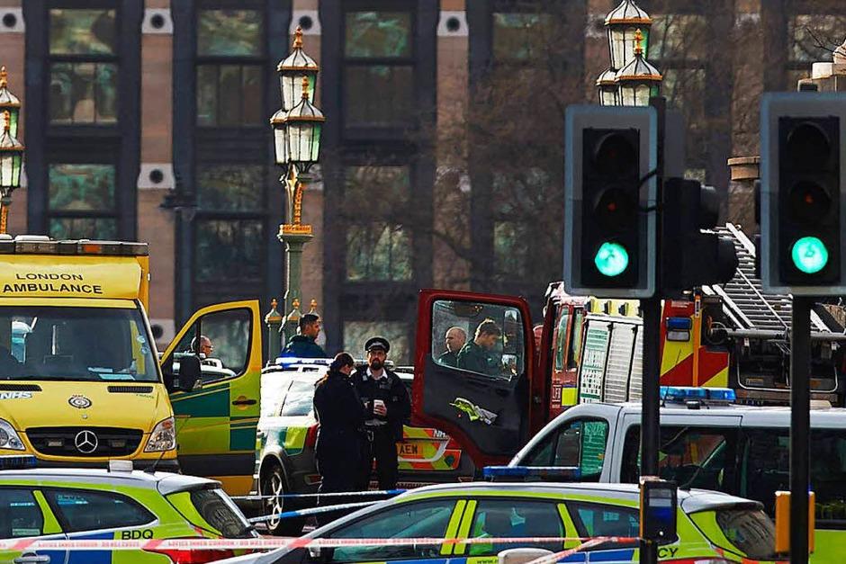 Anschlag im Zentrum Londons (Foto: AFP)