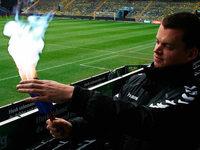 Dänischer Fußballverein testet harmlosere Pyrotechnik