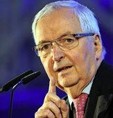 Ex-Umweltminister Klaus Töpfer referiert auf Einladung von Murg im Wandel in der Murgtalhalle