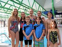Kräftemessen der Schwimmer