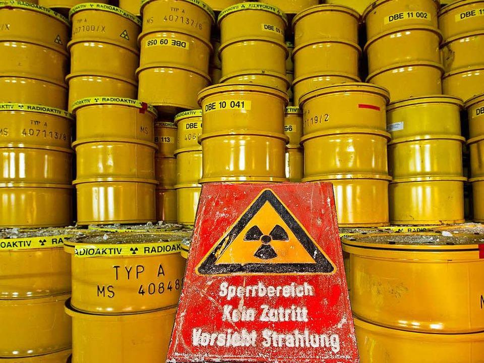 Generationenproblem Atommüll     Foto: dpa